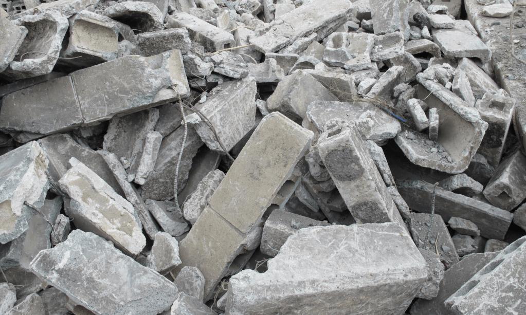廃棄ブロック